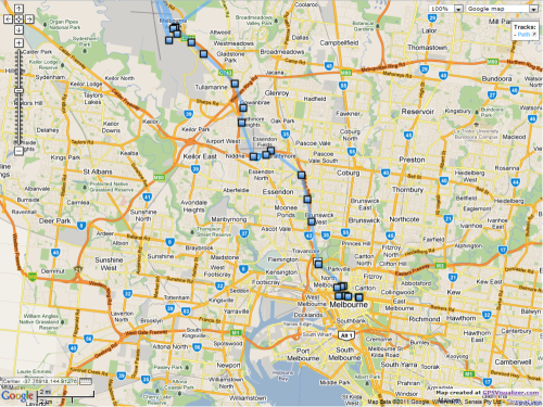 Map-melb